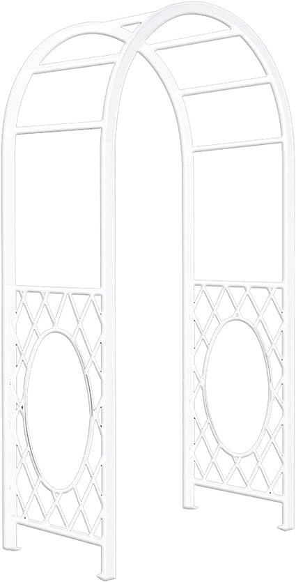 YICOL Arco de Jardín de Metal de Sección Cuadrada Resistente ...