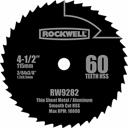 Rockwell rw9282 4 12 inch 60t high speed steel compact circular saw rockwell rw9282 4 12 inch 60t high speed steel compact circular saw blade keyboard keysfo Images