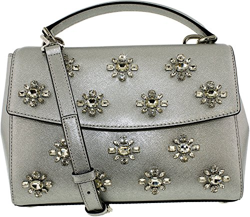 Michael Kors Silver Handbag - 9
