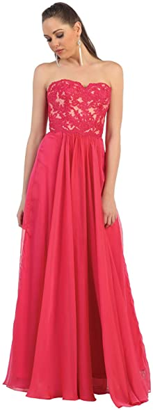 Red Plus Size Prom Dresses