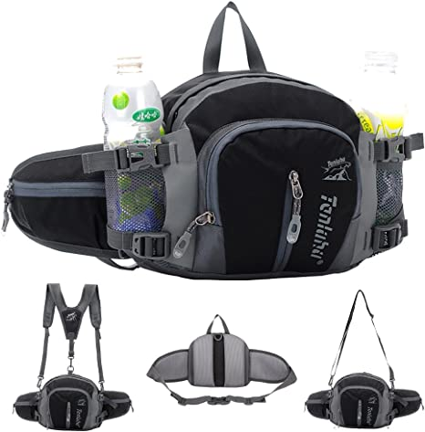 I D Rather Be Fishing Sport Waist Packs Fanny Pack Adjustable For Travel