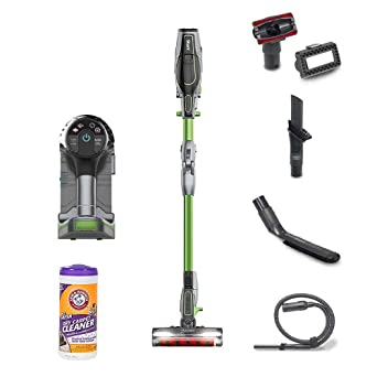 Ninja Shark Cordless Light Vacuum(Renewed) w/Arm & Hammer Cleaner