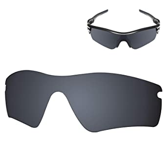 1ac5850f8bc35 Amazon.com  Galvanic Replacement Lens for Oakley Radar Path - Amber + Black  Polarized - Pack  Clothing
