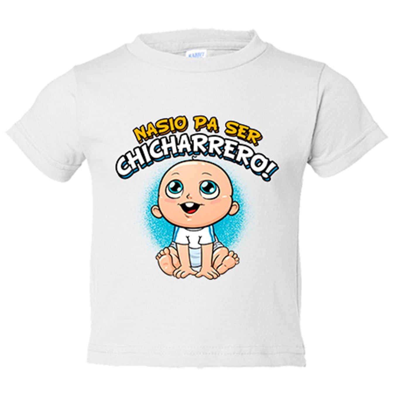Camiseta niño nacido para ser Chicharrero Tenerife fútbol - Azul Royal, 3-4 años: Amazon.es: Bebé