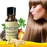 Schnelles Wachstum Essence Flüssigkeit, Andrea 20ml Haarwuchs Serum Haarausfall Behandlung für Männer Frauen