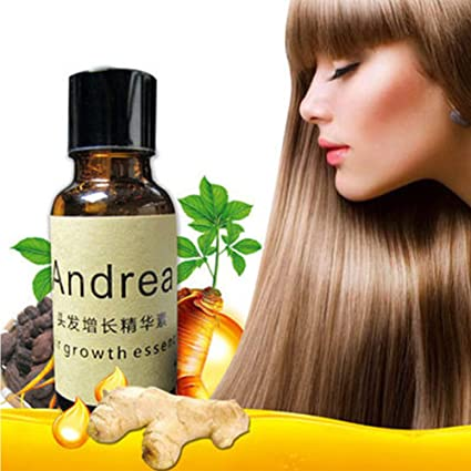 Líquido esencial de crecimiento rápido de cabello, Andrea 20 ml de tratamiento de suero para