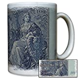 100 Mark Prussia German Goddess Germania Currency Money Collector Gift idea - Coffee Cup Mug