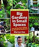 Big Gardens in Small Spaces, Martyn Cox, 0881929077