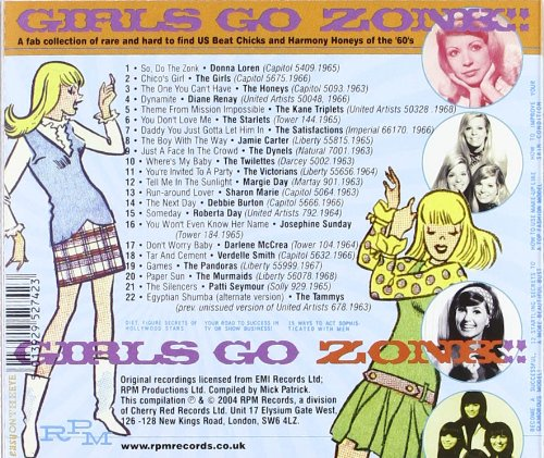 Girls Go Zonk: Us Beat Chicks & Harmony Honey by Rpm Records UK