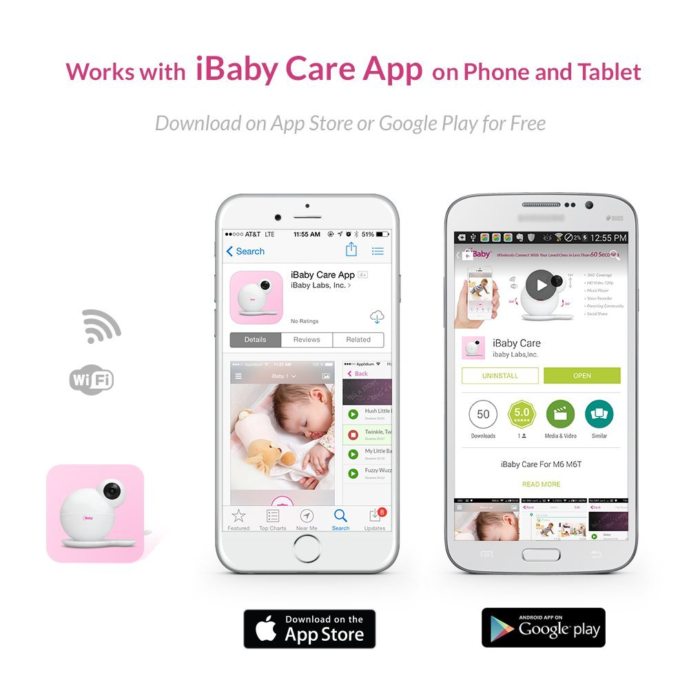 iBaby Wi-Fi Wireless Digital Baby Video Camera Review