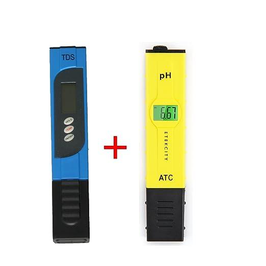 72 opinioni per Xcellent Global Tester digitale per il pH accuratezza 0.05pH con ATC e schermo