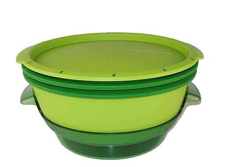 Tupperware Microondas Micro Gourmet Vaporera verde Micro ...