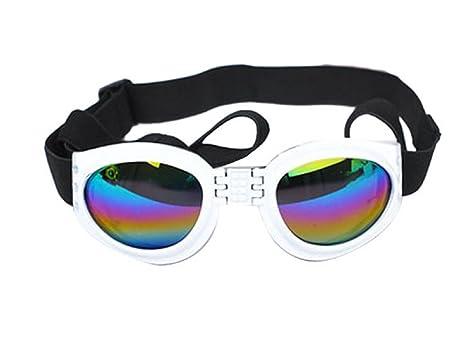 Inception Pro Infinite (Blanco) Gafas de Sol para Perros con ...
