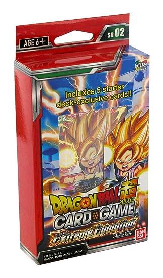 Bandai BCLDBSP7498 Dragon Ball Super Card Game: The Extreme Evolution Starter Deck