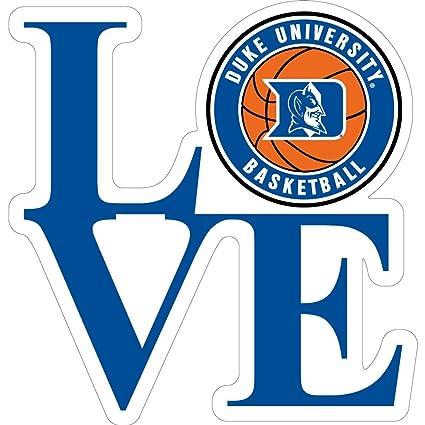 amazon com duke blue devils 3 love basketball logo magnet