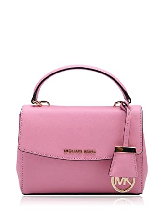 bacca89a3407 Amazon.com   Michael Kors Women s Ava Cross Body Bag (navy pink)   Baby
