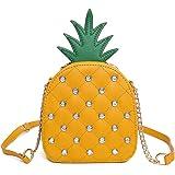 7a297ea86e1 SUKUTU Fruit Orange Shaped Girl Purses PU Leather Crossbody Bag for ...