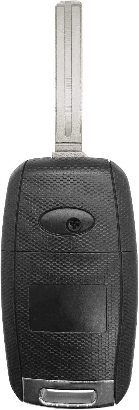 SINGLE TQ8RKE-3F05 ;by AUTO KEY MAX Fits 2014 2015 2016 2017 Kia Rio 2014 2015 Sorento Keyless Entry Remote Flip Key Fob FCCID