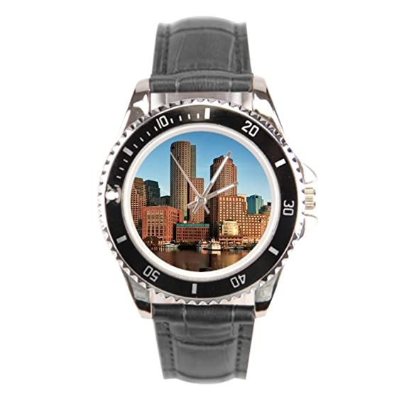 goldenvenus Boston Skyline – Reloj de pulsera