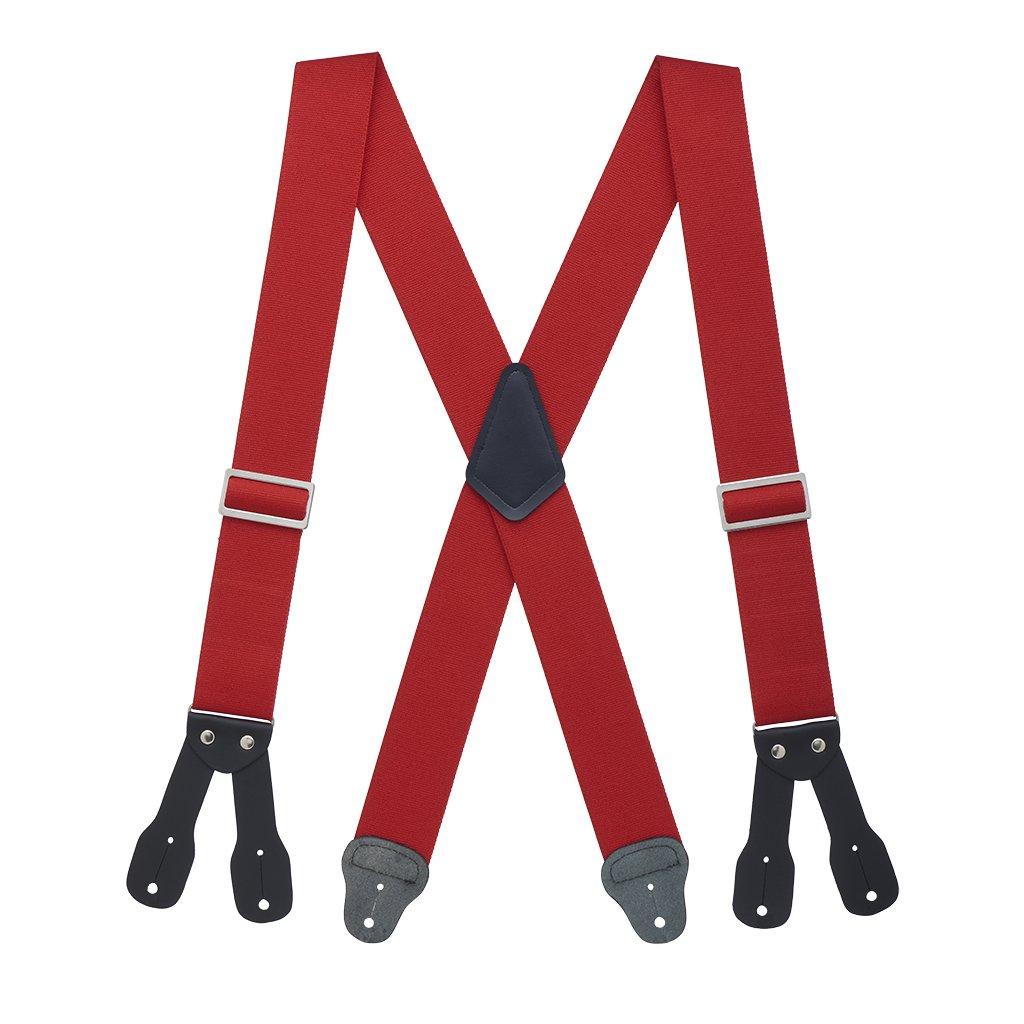 Suspender Store Mens Logger Suspenders - BUTTON (4 sizes, 4 colors) 0-LOGGER-2-BUTTON-PARENT