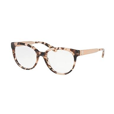 390ed813b2 MICHAEL KORS Eyeglasses MK4053 3162 Pink Tortoise at Amazon Men s ...