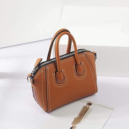 377cd20382b7 Amazon.com: Maerye Simple women's handbag single shoulder bag ...