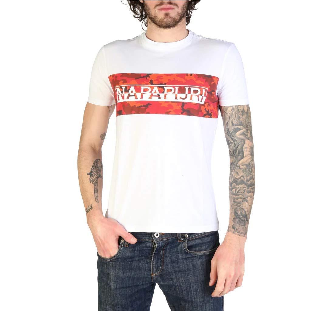 Amazon.com: Napapijri Salkat-Shirt - Camiseta para hombre ...
