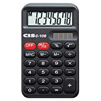 Calculadora de Bolso 8 Dígitos C-106 CiS