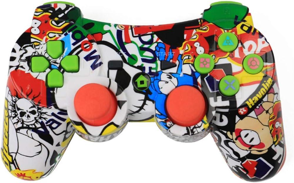 Controlador de Juegos inalámbrico Pigup Bluetooth Joystick inalámbrico Gamepad para PS3 Videojuego Joystick Color
