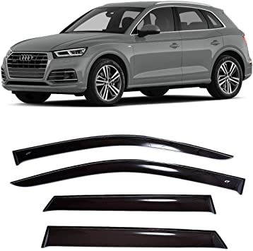 2017 Set Car Shades Compatibile con Audi Q5 FY