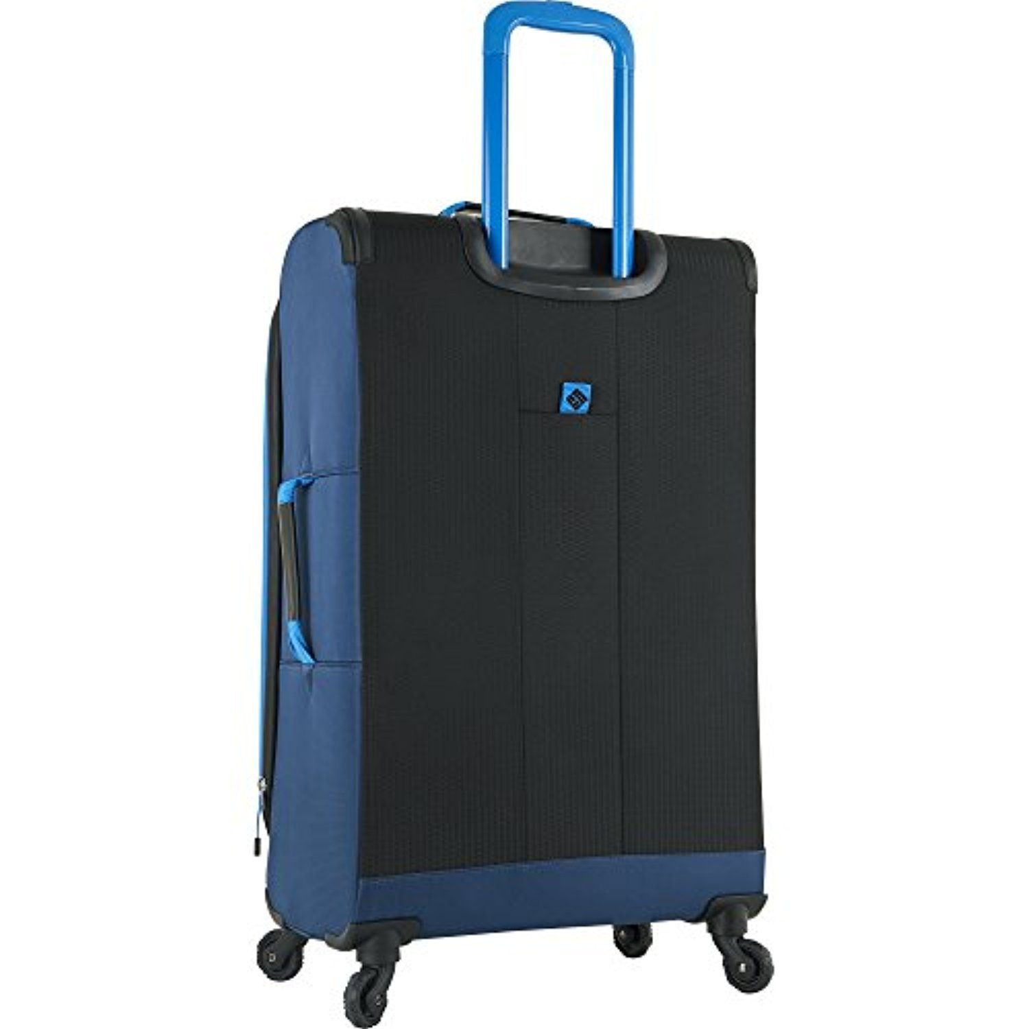 Columbia Kiger 31'' Expandable Spinner Suitcase, Coal/Night Tide Blue by Columbia