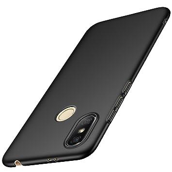 anccer Funda Xiaomi Redmi S2 [Serie Colorida] [Ultra-Delgado] [Ligera] Anti-rasguños Estuche para Carcasa Xiaomi Redmi S2 (Negro Liso)
