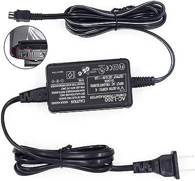 Cargador adaptador de alimentación de CA /& cable de Estados Unidos para SONY Handycam DCR-HC38 DCR-SR80 HDR-HC3