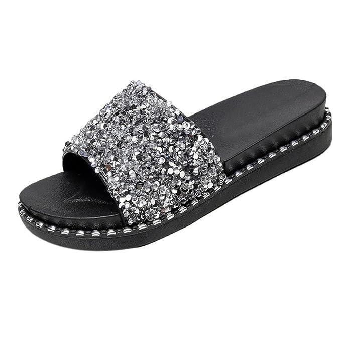 04a61402bb5bf1 DENER Women Ladies Wedge Platform Heel Sandals