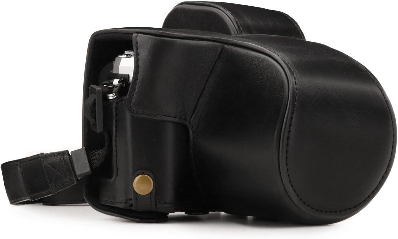 Megagear Olympus Om D E M10 Mark Iii Ever Ready Leder Kamera