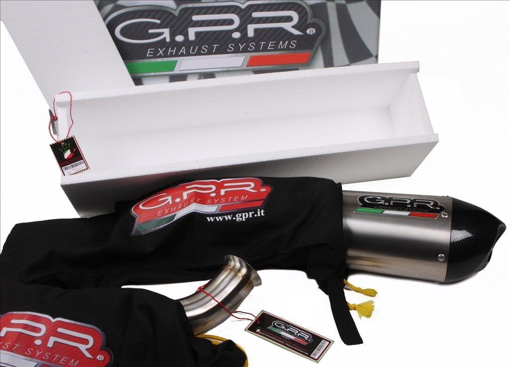 GPR H.220.DC Honda Cbr 500 R 2013//14 Homologated Slip-On Exhaust System