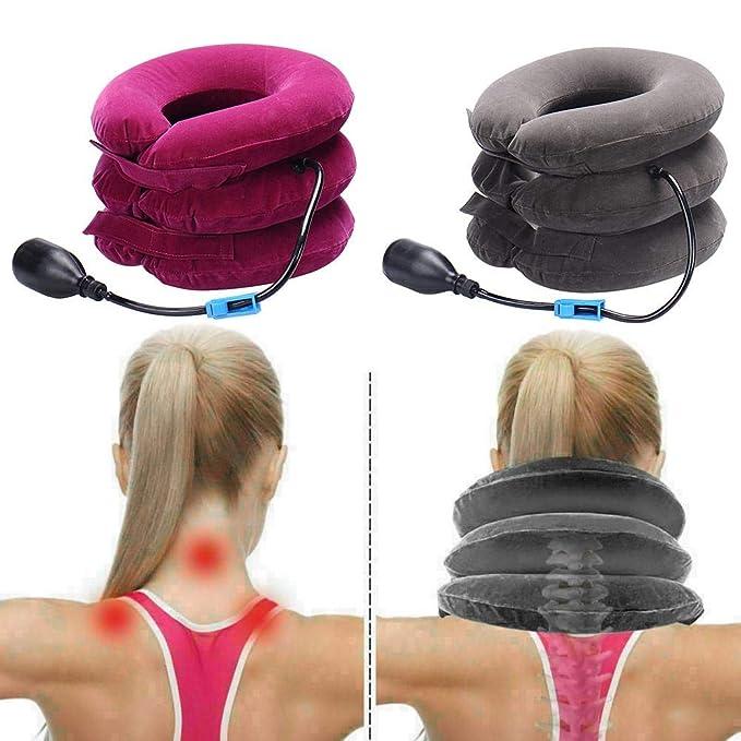 ZHUOTOP - Collarín hinchable para el cuello, para el hogar, el ...