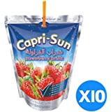 Capri Sun Strawberry, 200 ml - Pack of 10