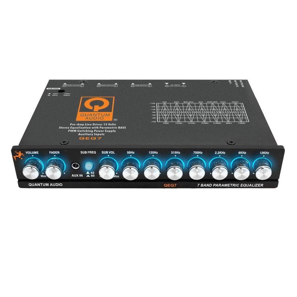 Quantum Audio Component Equalizer, Black (QEQ7)