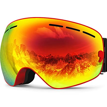 4a9144a2629 ZIONOR Lagopus X Ski Snowboard Snow Goggles OTG Design for Men   Women with  Spherical Detachable Lens UV Protection Anti-fog  Amazon.ca  Sports    Outdoors