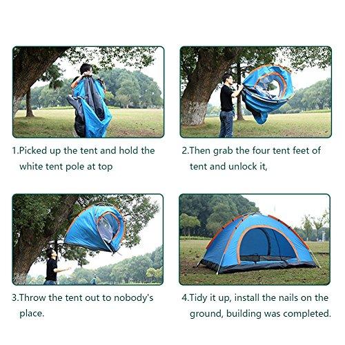 PREV ...  sc 1 st  MK Library & Pop Up TentLingAo 2 Person Tent Automatic u0026 Instant Setup Tent ...