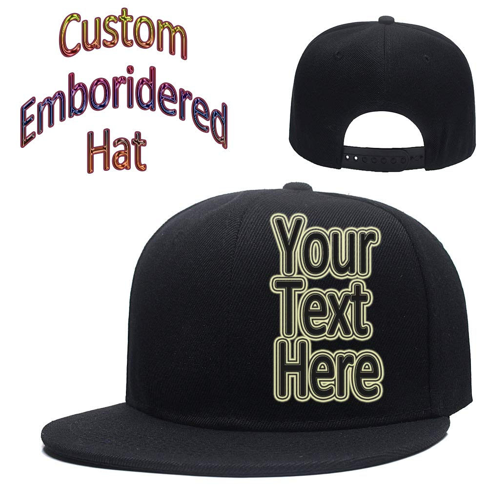 d84398d571e Personalized Embroidered Hip-Hop Cap