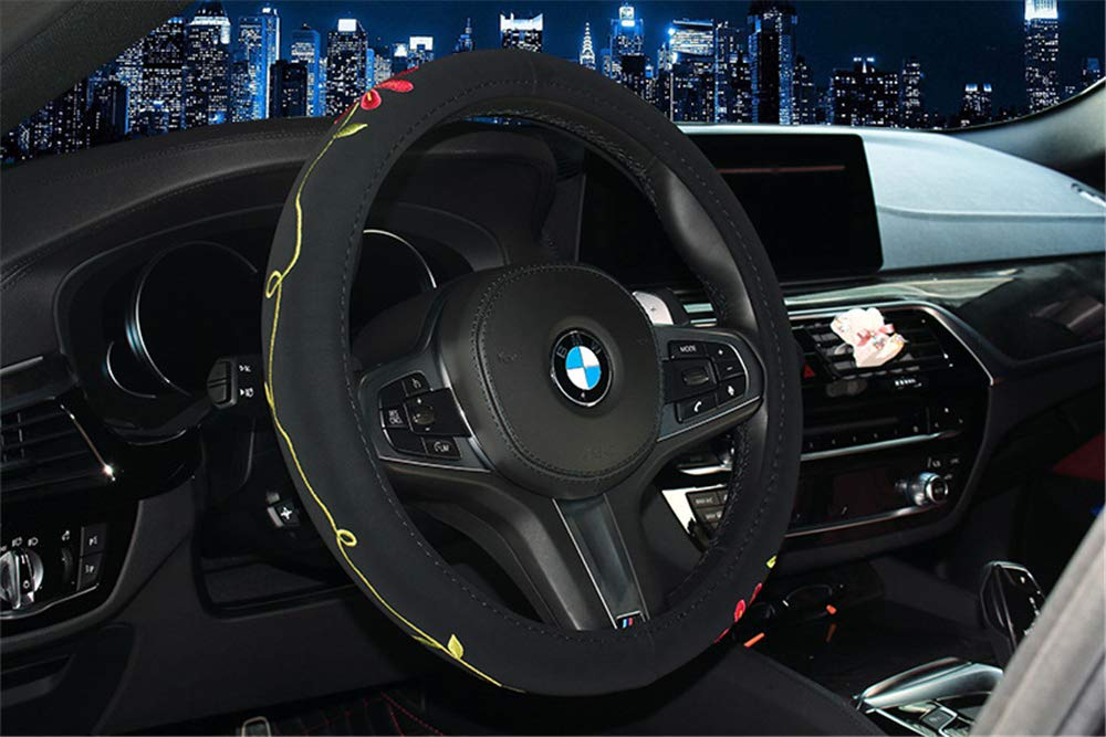 Car Steering Wheel Cover Four Seasons Universal 15inch 38CM for Women