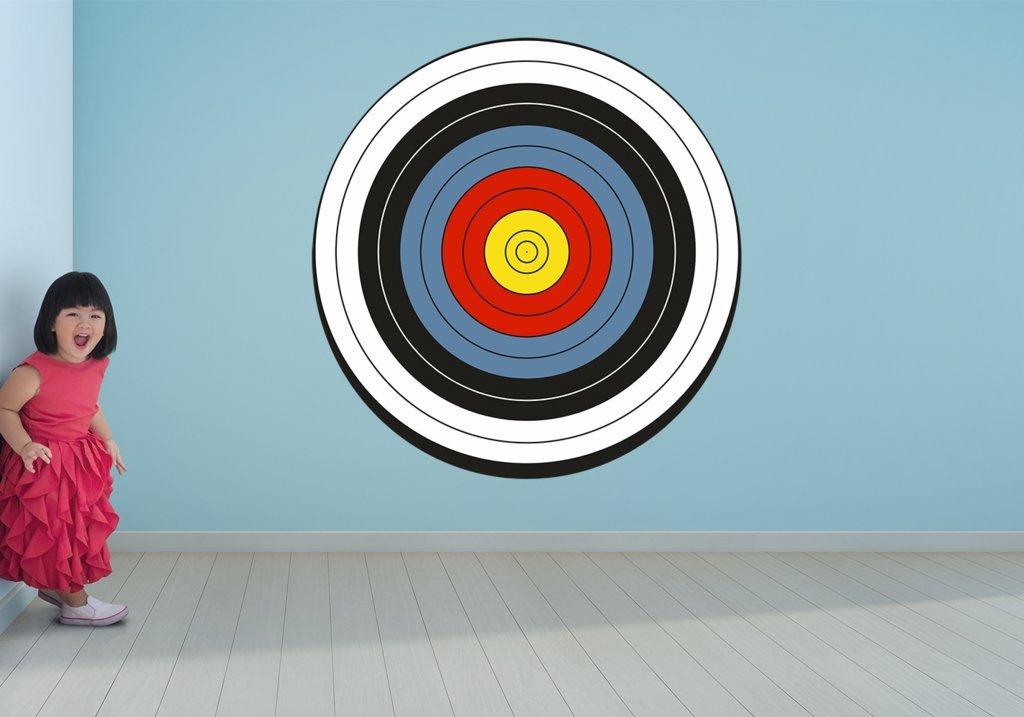 Archery Target Bullseye Wall Art Decal Sticker