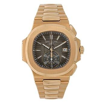 e7049cb7dfd Amazon.com: PATEK PHILIPPE NAUTILUS 40MM ROSE GOLD MEN'S WATCH 5980 ...