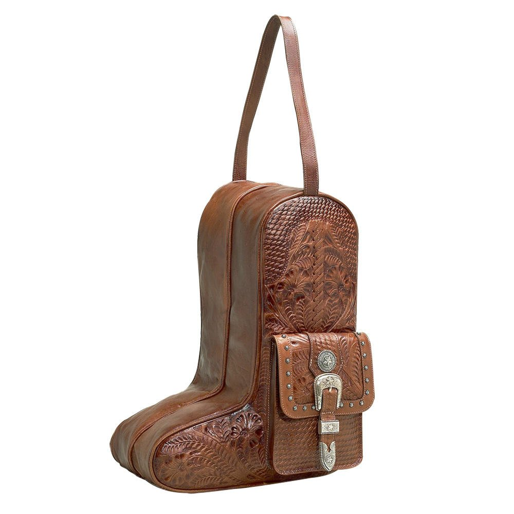 American West 8565736 Retro Romance Boot Bag