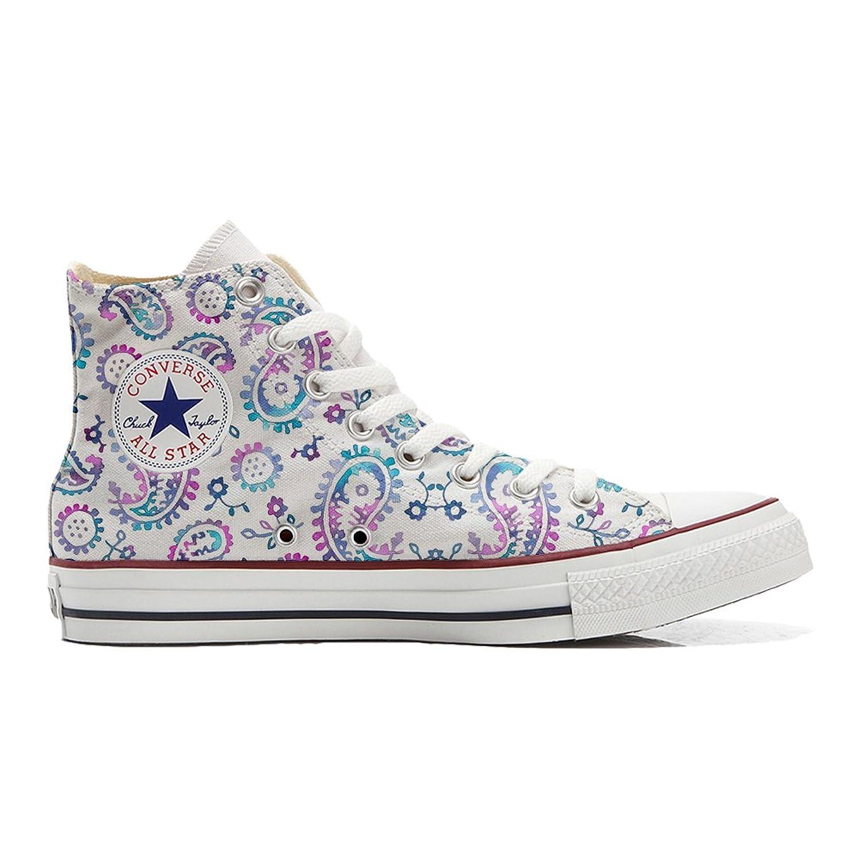 Converse All Star personalisierte Schuhe (Handwerk Produkt) Watercolor  32 EU