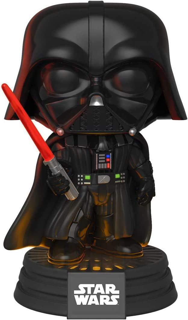 Funko 35519 POP Bobble: Star Wars: Darth Vader Electronic, Multicolor