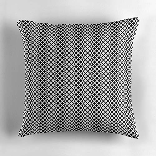 Biekxrso Striped Chicken Wire Personalized Cotton Throw Pillow Cover Decorative Cushion Cover Pillowcase Cushion Case Cover for Home Sofa 18 x 18 -