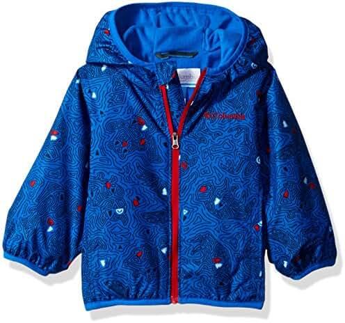 Columbia Baby Boys' Mini Pixel Grabber II Wind Jacket